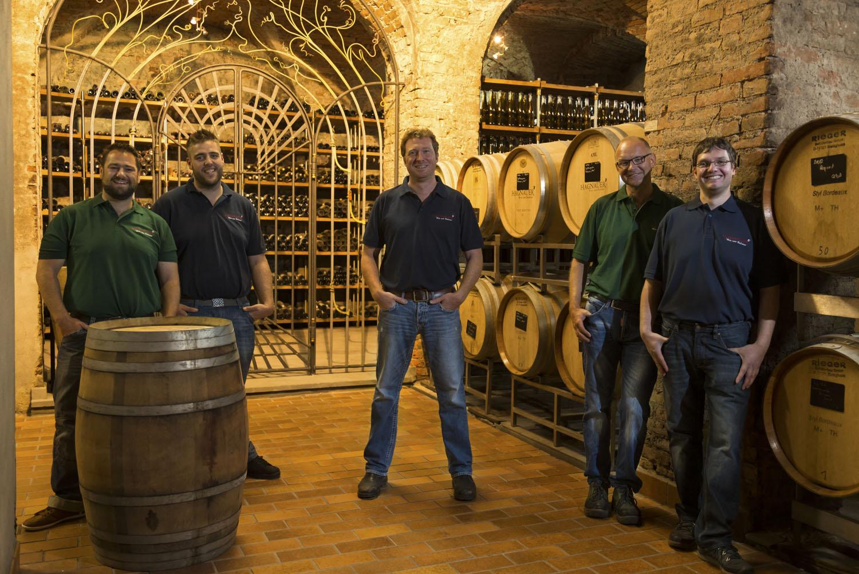 Our cellar team
