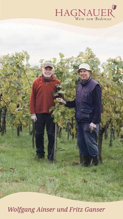 Wolfgang Ainser und Fritz Ganser