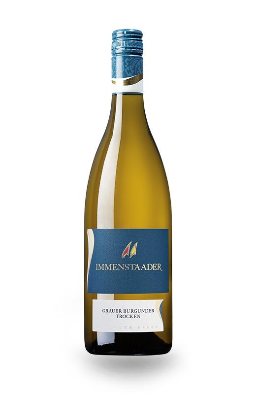 Flasche Immenstaader Grauburgunder